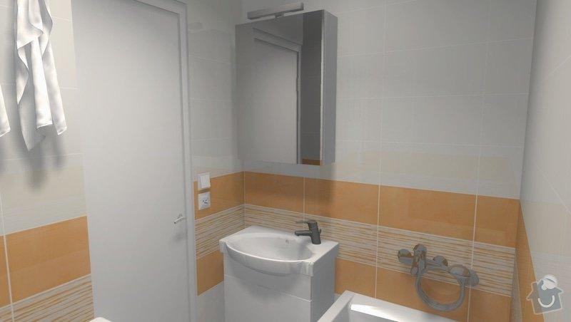 Rekonstrukce bytového jádra na Starém Brně: 002