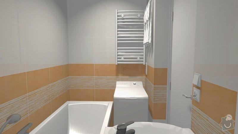 Rekonstrukce bytového jádra na Starém Brně: 004