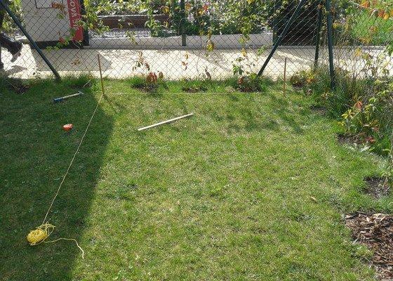 Podlazka a ukotveni pro zahradni domek