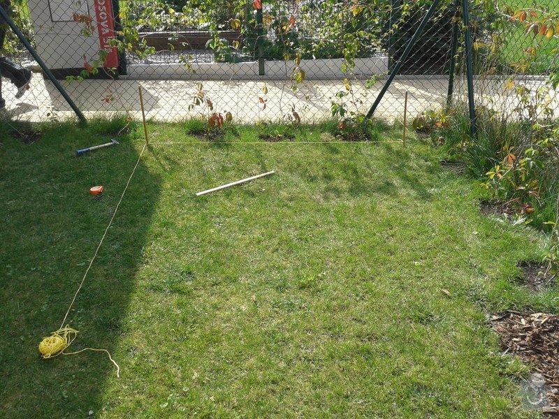 Podlazka a ukotveni pro zahradni domek: Pracovni_072
