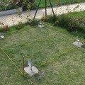 Podlazka a ukotveni pro zahradni domek pracovni 077