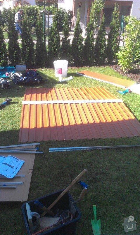 Podlazka a ukotveni pro zahradni domek: IMAG2671