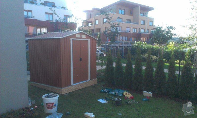 Podlazka a ukotveni pro zahradni domek: IMAG2674