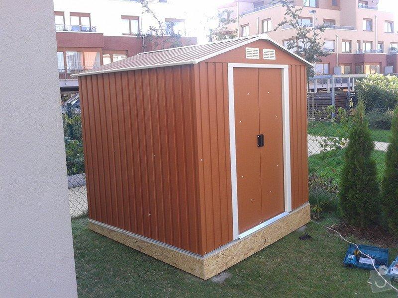 Podlazka a ukotveni pro zahradni domek: Pracovni_082