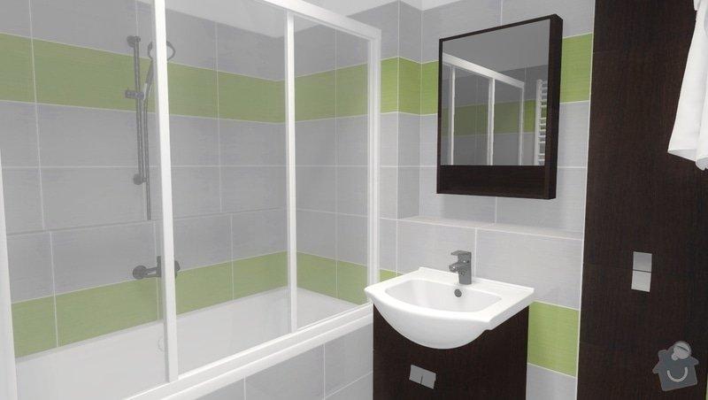 Částečná rekonstrukce bytu v Brně, Černovicích: 002
