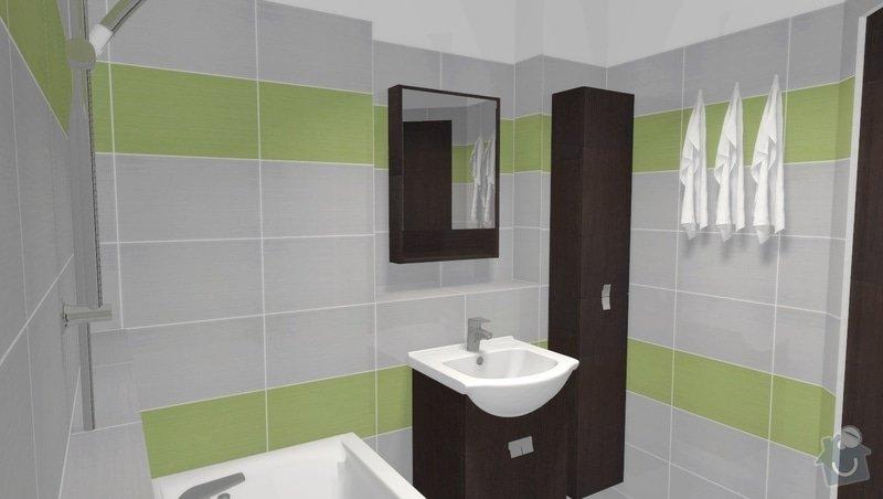Částečná rekonstrukce bytu v Brně, Černovicích: 003