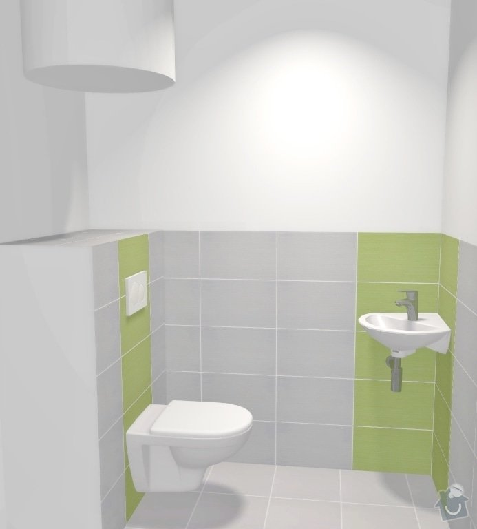 Částečná rekonstrukce bytu v Brně, Černovicích: 005