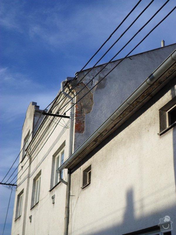 Oprava štítu domu: SAM_0017