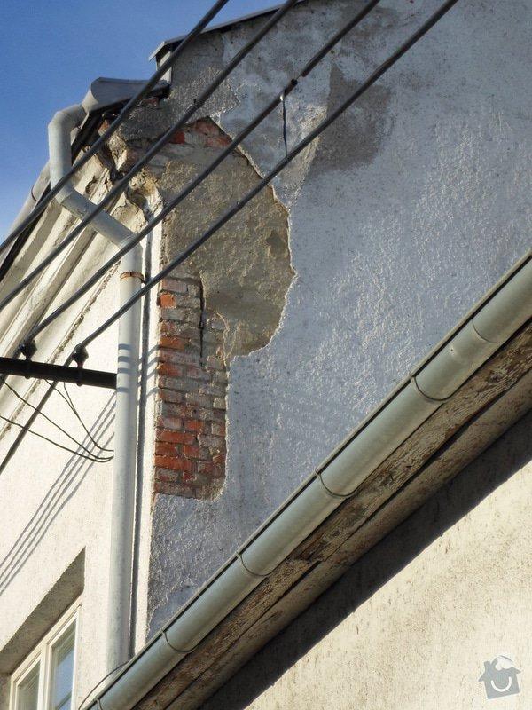 Oprava štítu domu: SAM_0018