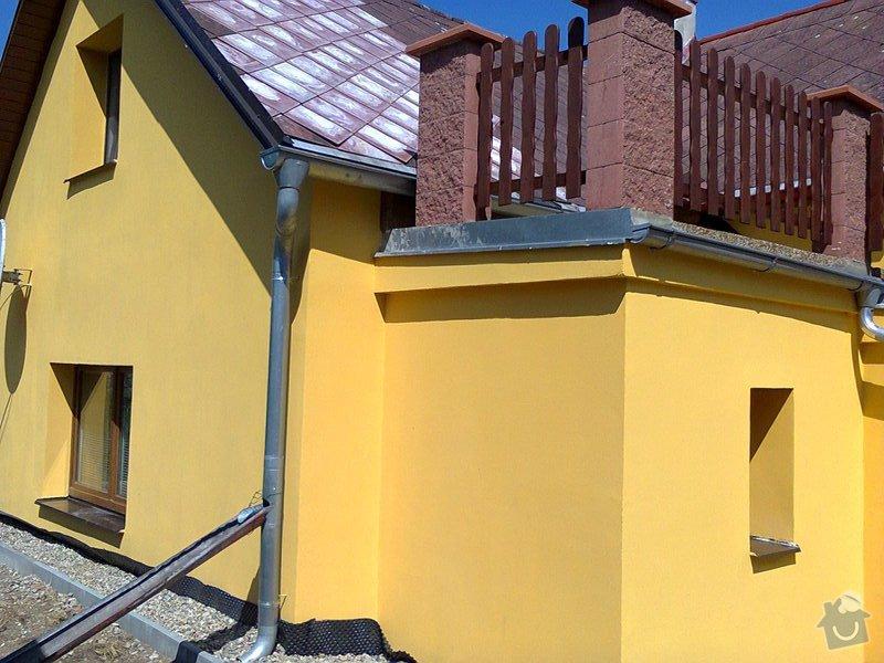 Zateplení fasády domu, nahození omítky atd.: fotky_stavba_031