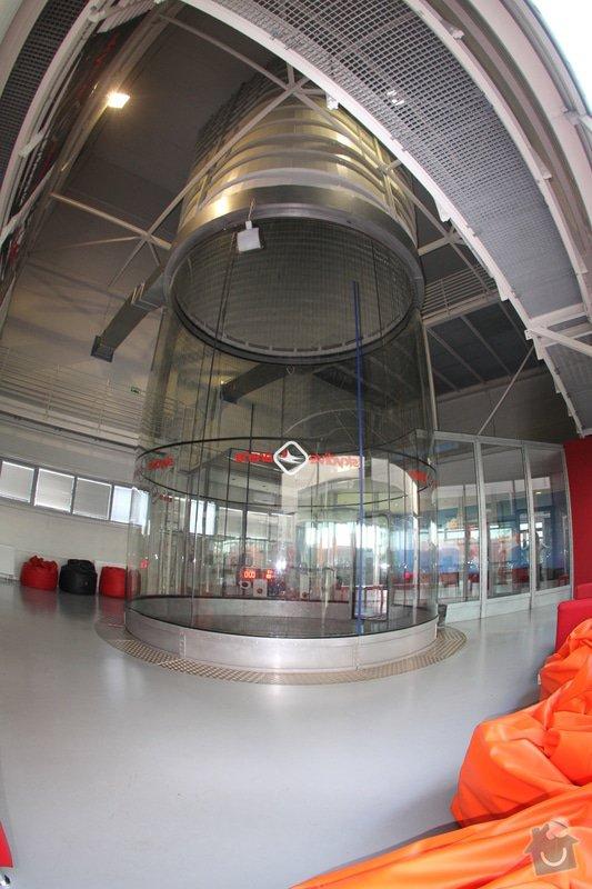 Montáž sádrokartonového stropu a stěn v prostorách větrného tunelu (1 hala): IMG_2799