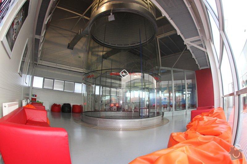 Montáž sádrokartonového stropu a stěn v prostorách větrného tunelu (1 hala): IMG_2800