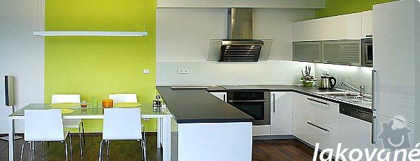 Výroba kuchyňské linky, šaten a nábytku do koupelny: kuchyne-lak