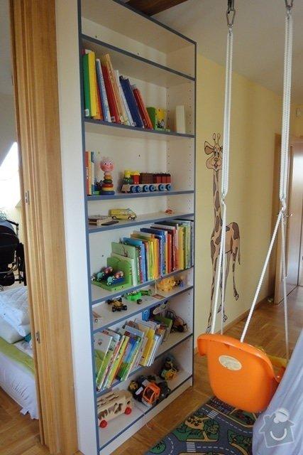 Nábytek do dětského pokoje: knihovna_pohled_b
