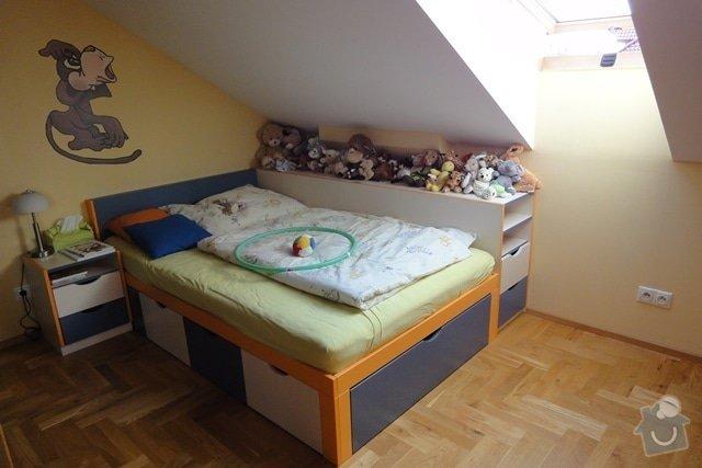 Nábytek do dětského pokoje: postel_perinak_nocni_stolek