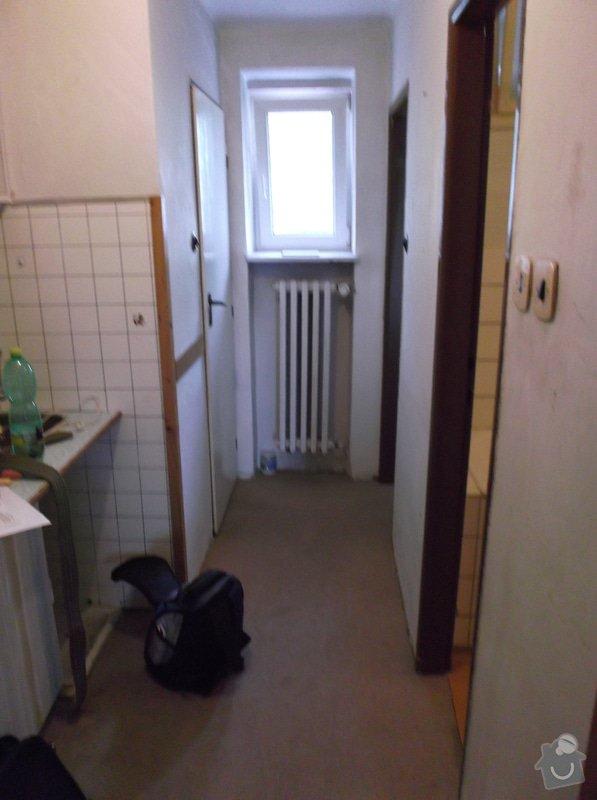 Zednické práce v byte 3kk 58m2, malířské práce v bytě 3kk 58m2: kuchynsky_kout