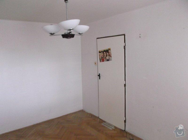 Zednické práce v byte 3kk 58m2, malířské práce v bytě 3kk 58m2: pokoj_1