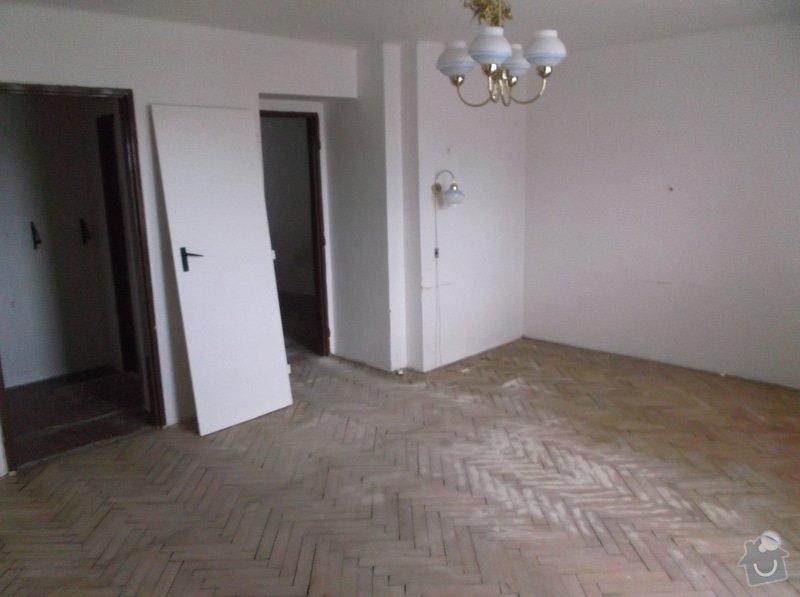 Zednické práce v byte 3kk 58m2, malířské práce v bytě 3kk 58m2: pokoj_3