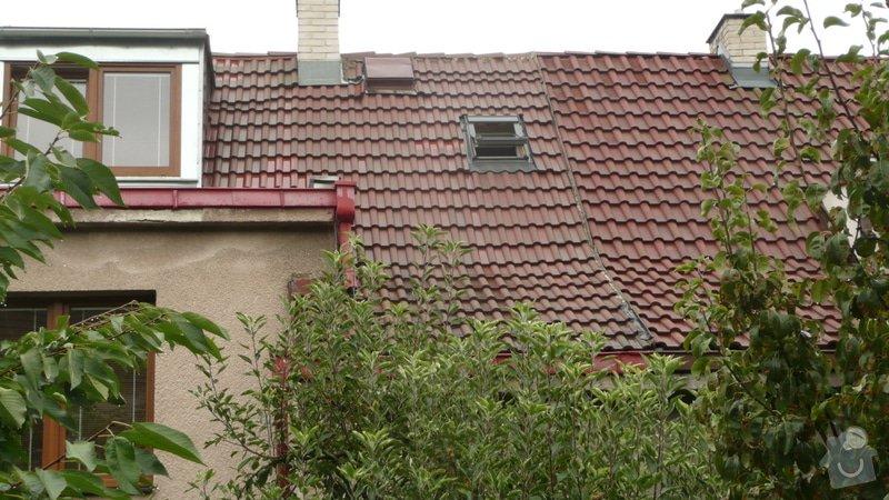 Oprava na střeše-zatékání do domu.: Strecha_1