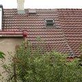 Oprava na strese zatekani do domu strecha 1