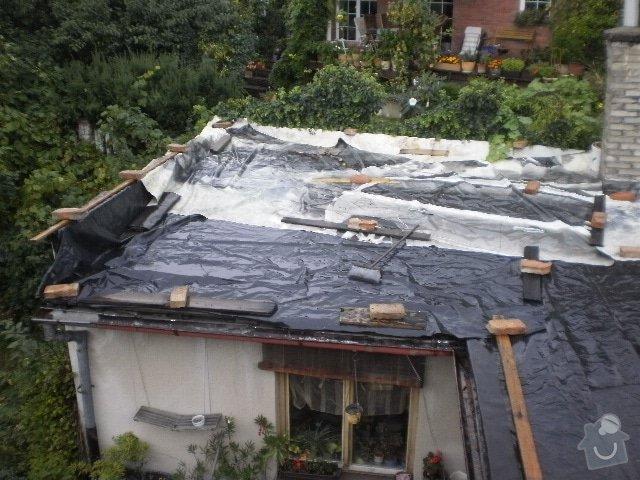 Pokladka krytiny plocha strecha: P9100097