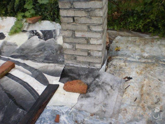 Pokladka krytiny plocha strecha: P9100099
