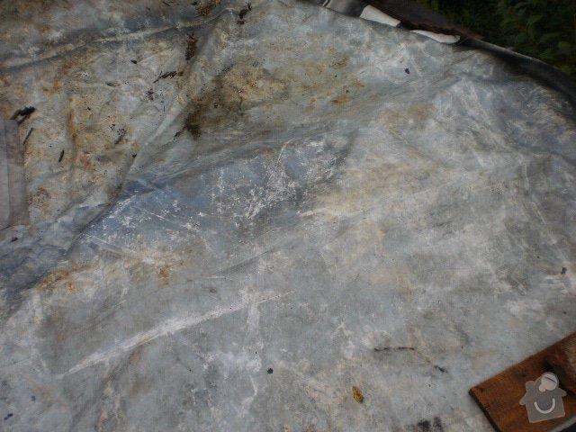 Pokladka krytiny plocha strecha: P9100100