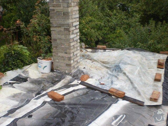 Pokladka krytiny plocha strecha: P9100103