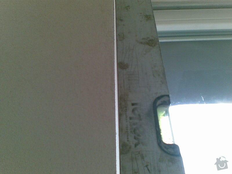 Sadrokartonarske prace, zednicke prace: 3NP_okno_terasa_1