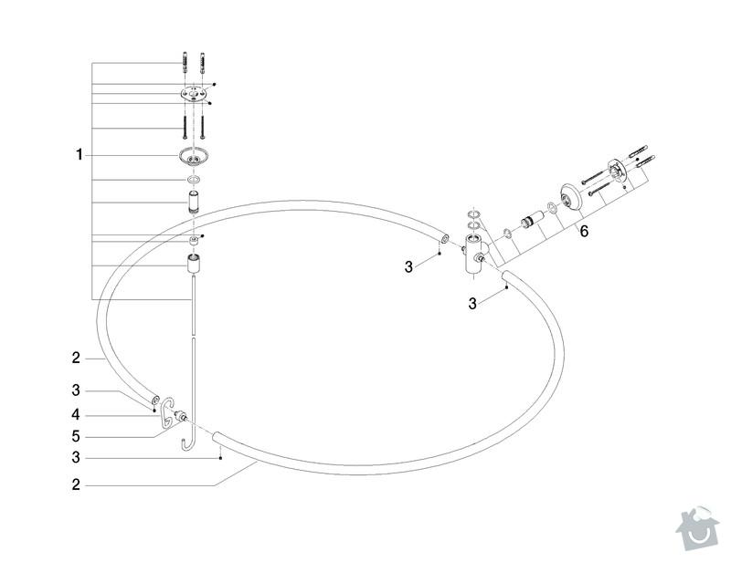 Výrobu nerezového kruhu do sprchového koutu: kruh3