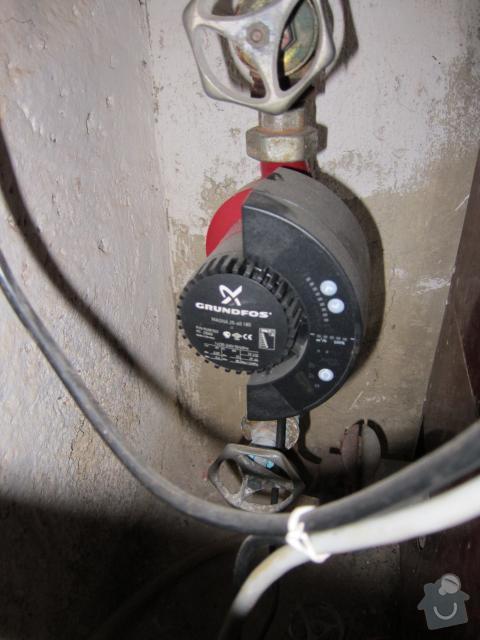 Oprava otopné soustavy - výměna 6 ks plechových článkových radiátorů : ut_005a
