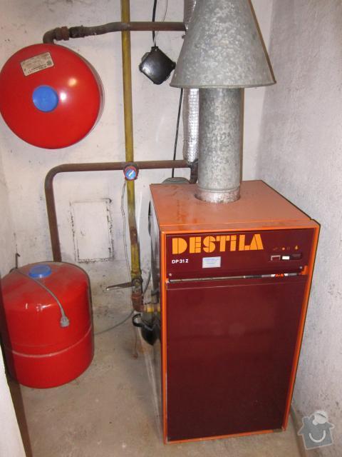 Oprava otopné soustavy - výměna 6 ks plechových článkových radiátorů : ut_004a