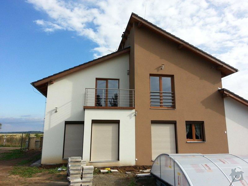 Střížka nad balkonem: 20130911_094947