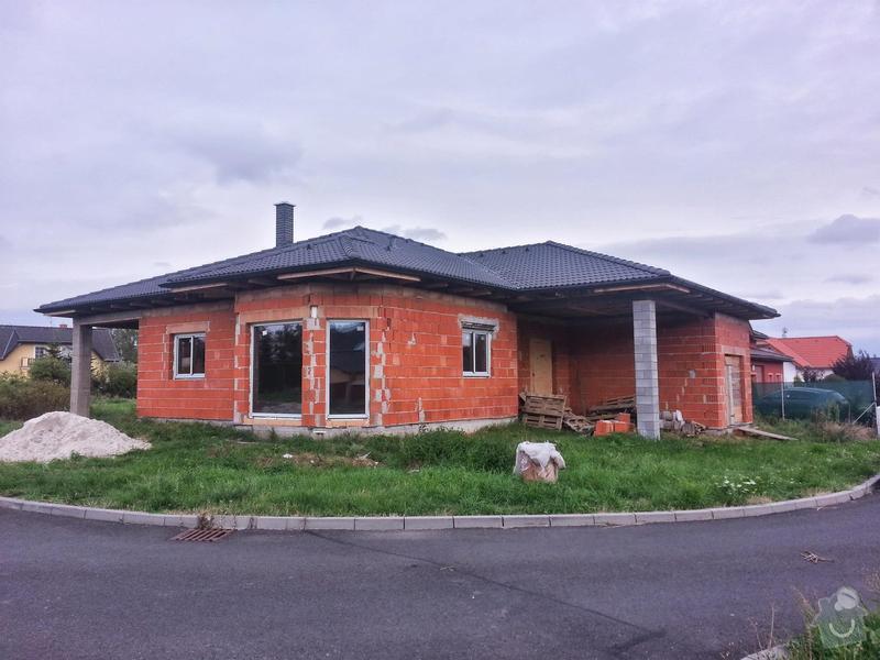 Podbití střechy: baraceek