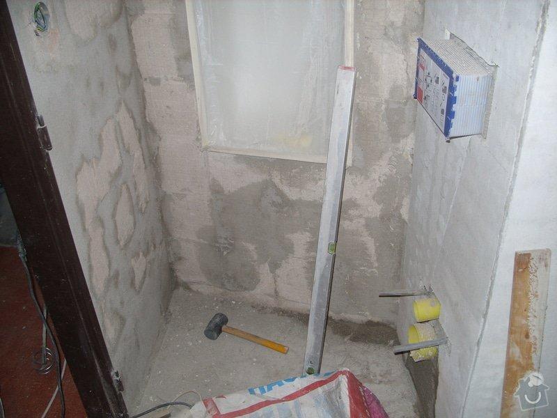 Srovnání podkladu zdí, obložení koupelny, štukové omítky: SS856877