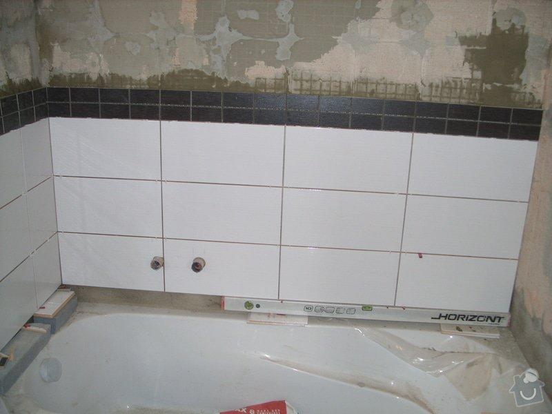 Srovnání podkladu zdí, obložení koupelny, štukové omítky: SS856889