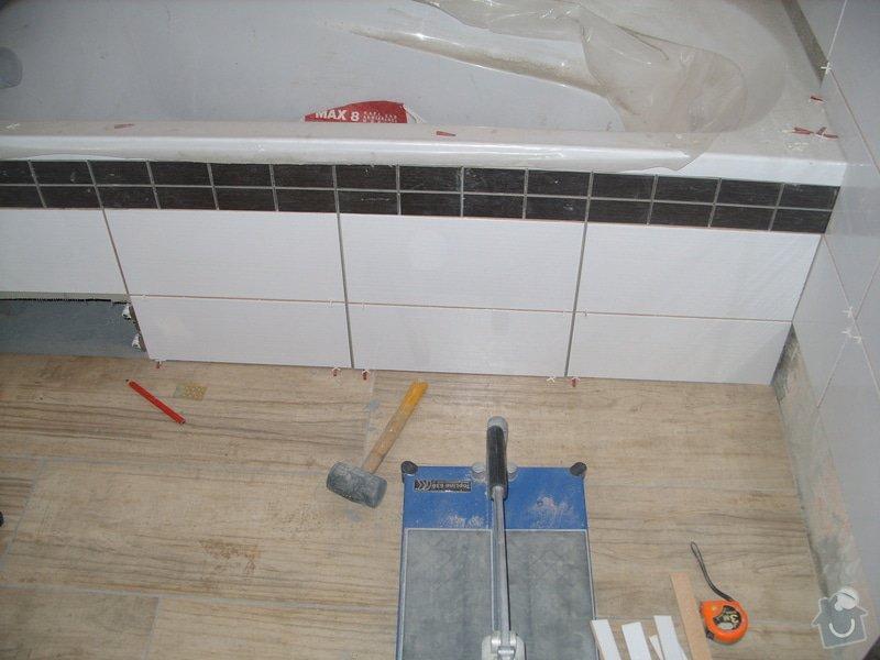 Srovnání podkladu zdí, obložení koupelny, štukové omítky: SS856892