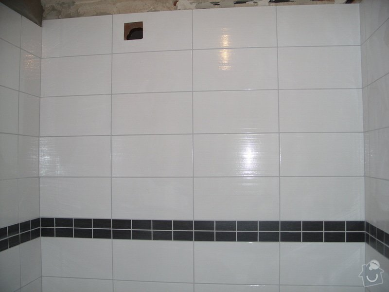 Srovnání podkladu zdí, obložení koupelny, štukové omítky: SS856898