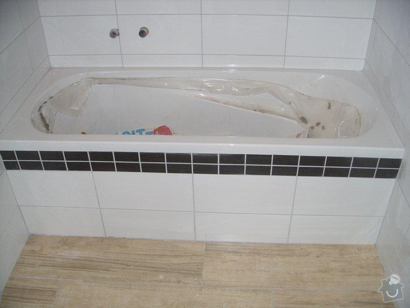 Srovnání podkladu zdí, obložení koupelny, štukové omítky: SS856899