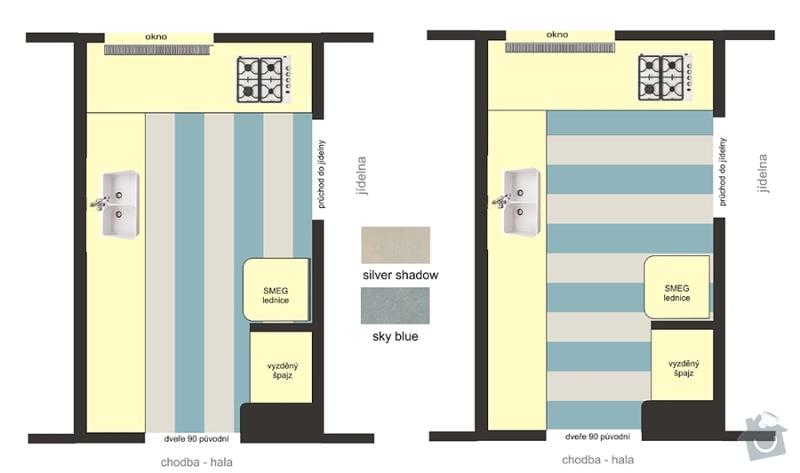 Podlaha v kuchyni: podlaha7