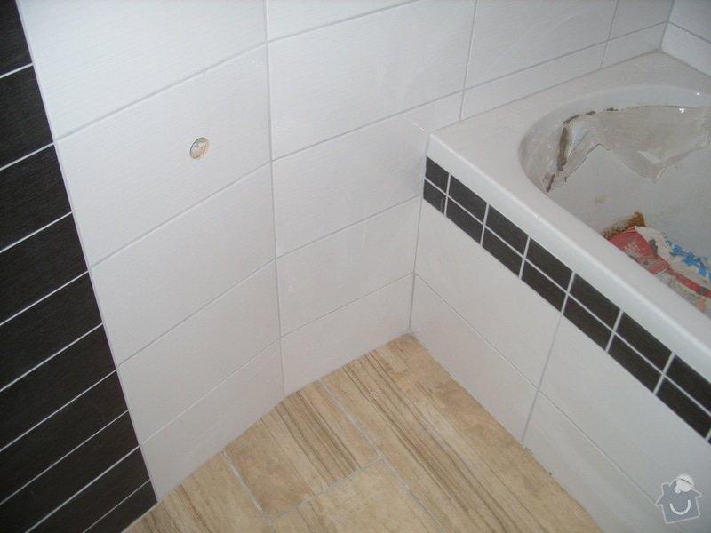 Srovnání podkladu zdí, obložení koupelny, štukové omítky: SS856908