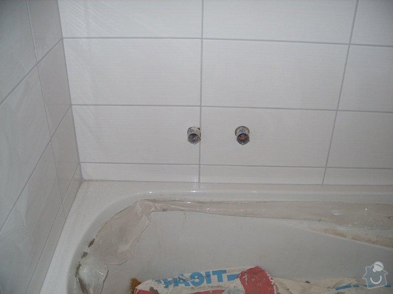 Srovnání podkladu zdí, obložení koupelny, štukové omítky: SS856909