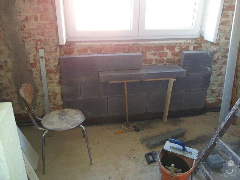 Obložení koupely, WC, prostoru mezi kuchyňskou linkou: 20130814_092706