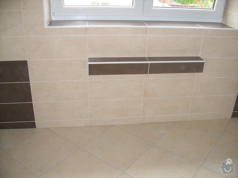 Obložení koupely, WC, prostoru mezi kuchyňskou linkou: SS856844