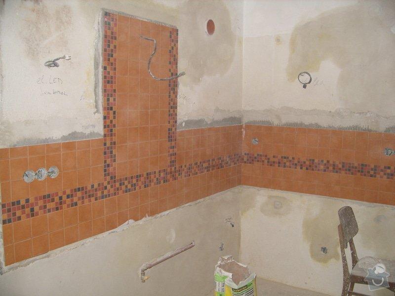 Obložení koupely, WC, prostoru mezi kuchyňskou linkou: SS856849
