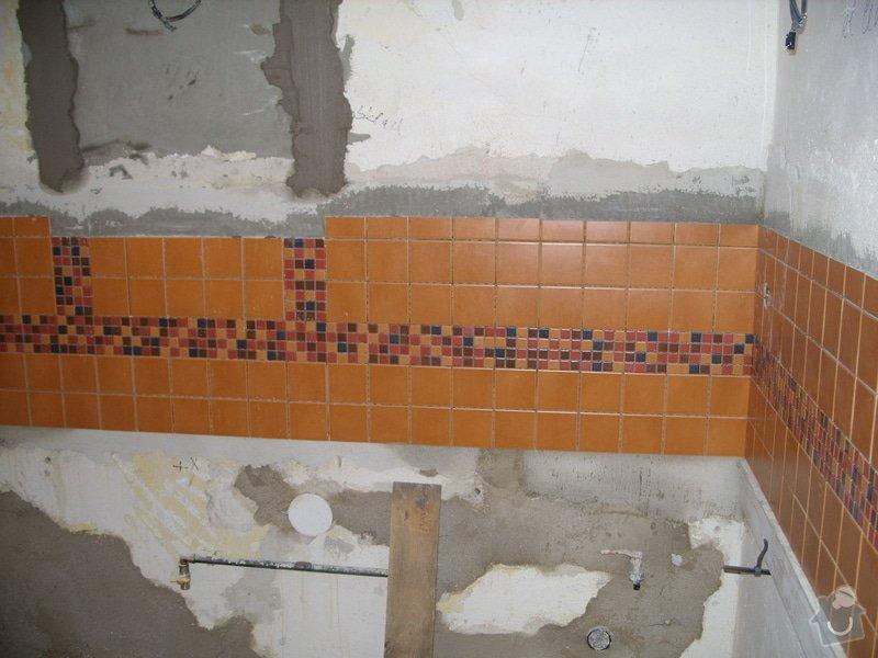 Obložení koupely, WC, prostoru mezi kuchyňskou linkou: SS856828