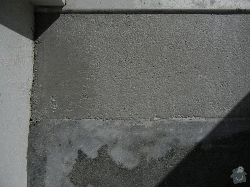 Renovace podlahy - lité teraco a schodiště: te4