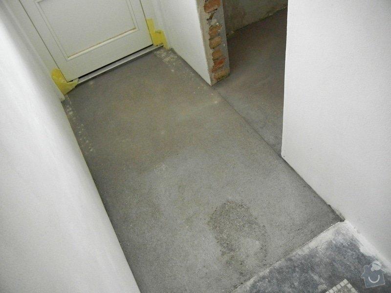 Renovace podlahy - lité teraco a schodiště: te6