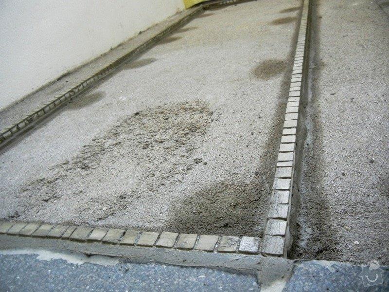 Renovace podlahy - lité teraco a schodiště: te7