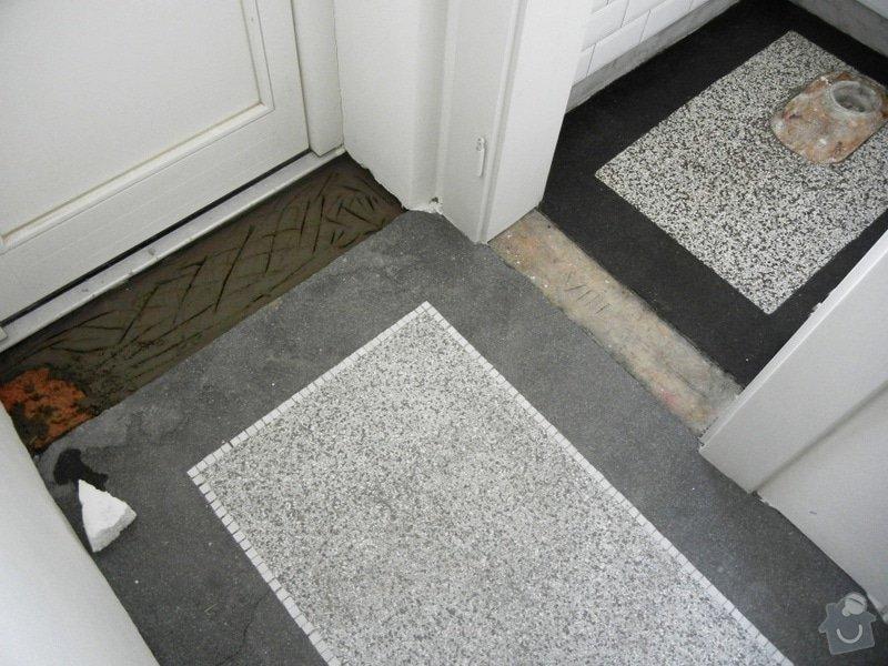 Renovace podlahy - lité teraco a schodiště: te9